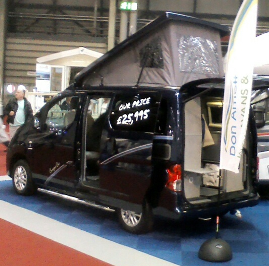 Vw Caddy Maxi Sliding Door Glass: Motorhoming And More